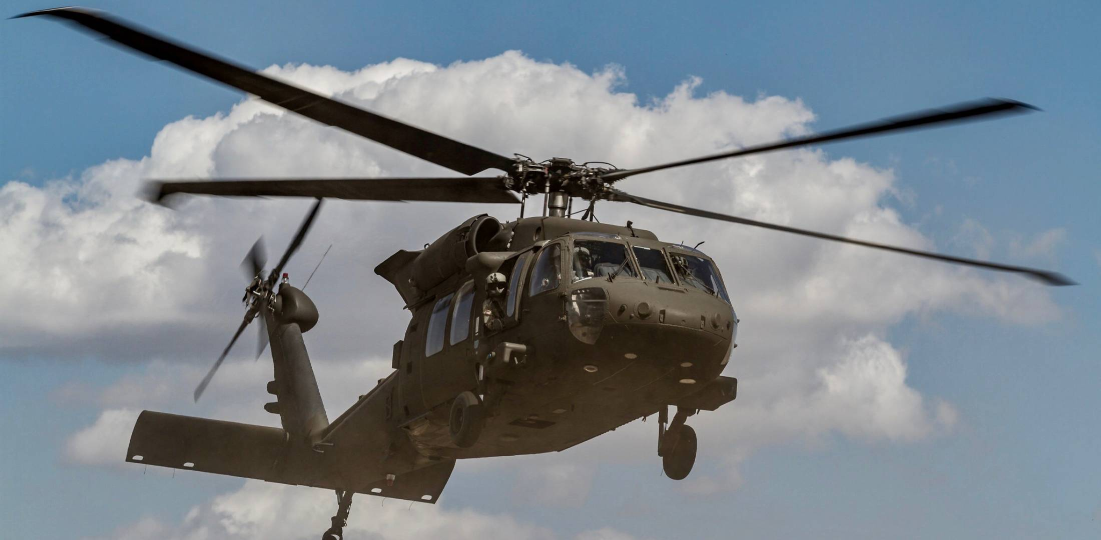 The Drone Strike Caused Minor But Visible Damage To A Rotor Blade And Window On Blackhawk Photo US Army