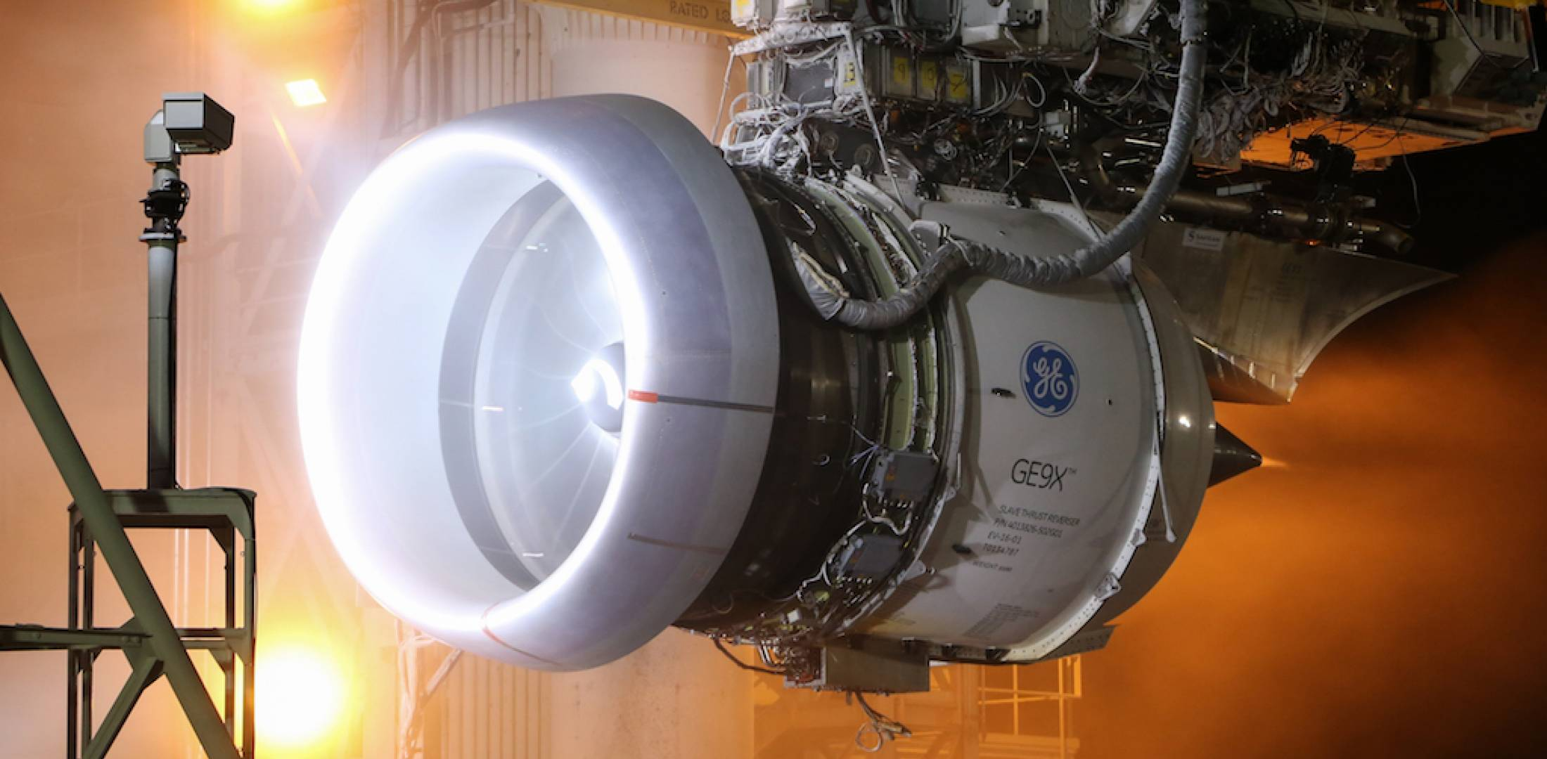 Ge9x Uses Cfm Leaps Pioneering Cooling Air Flow Modulation Full Authority Digital Electronic Control Fadec Schematic Diagram A Test Article Undergoes Icing Tests In Peebles Ohio Photo Ge Aviation