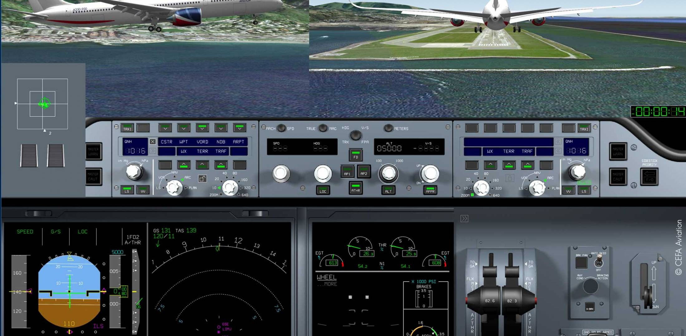 CEFA AMS (Aviation Mobile Services) on the ipad