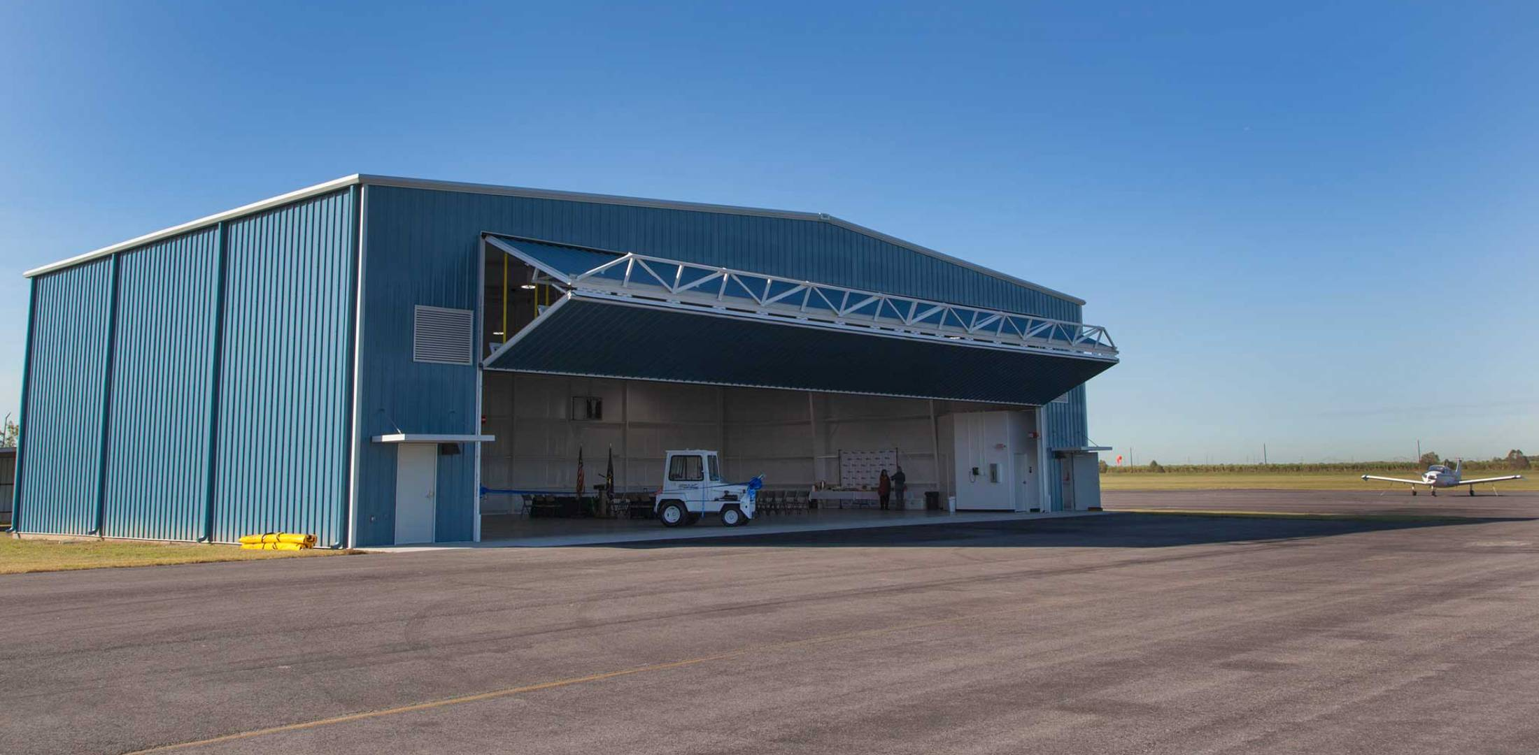 Louisiana Airport Debuts First Transient Hangar Business
