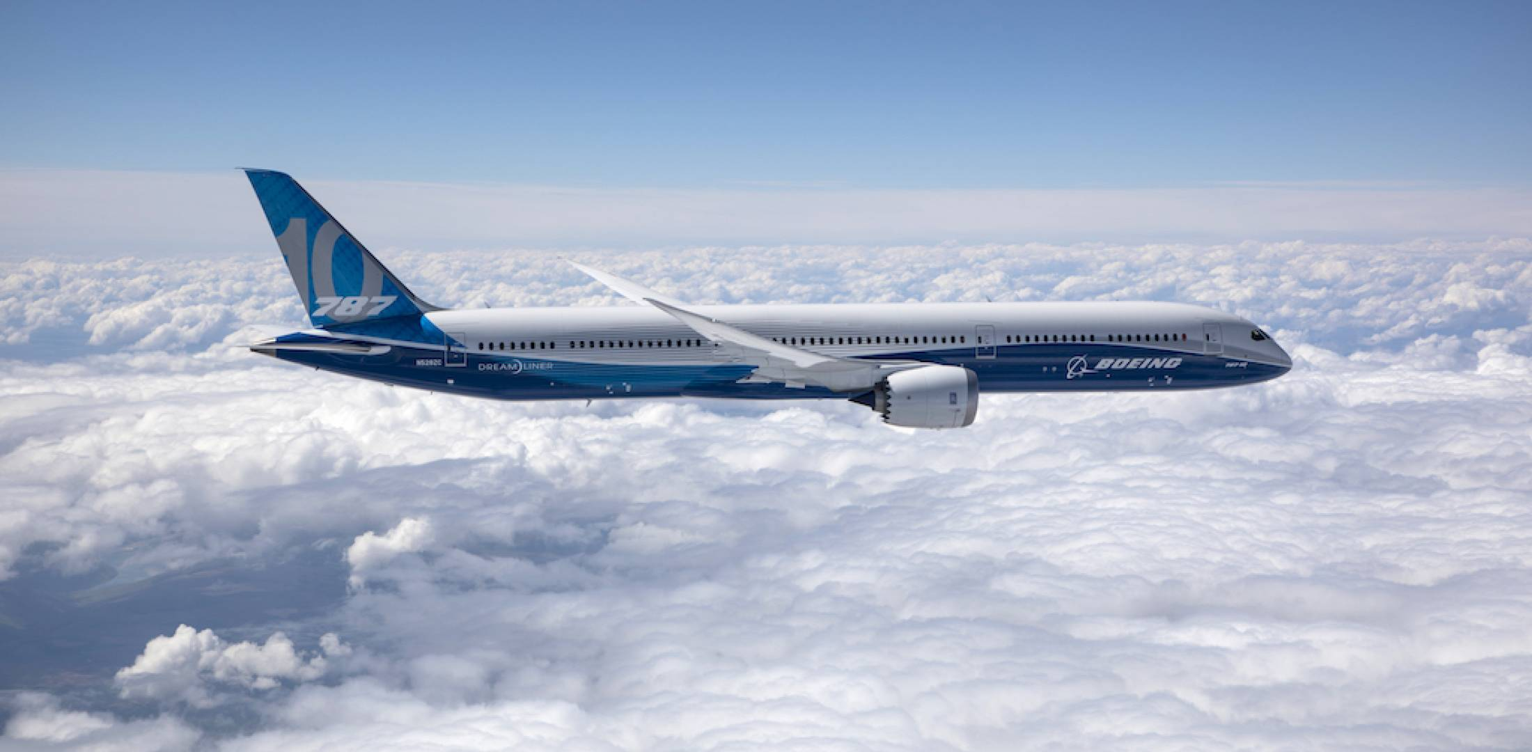 Three Boeing 787-10 flight test airplanes clocked 900 hours in the air over  10 months. (Photo: Boeing)