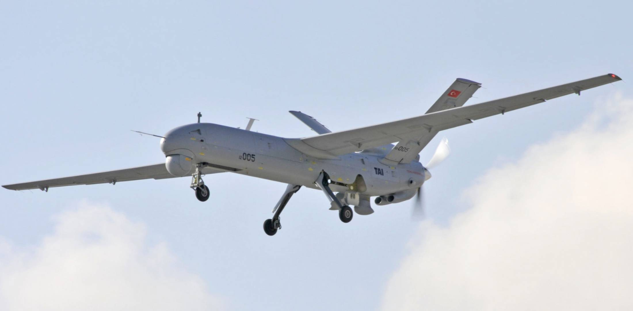 Anka-A UAV in flight