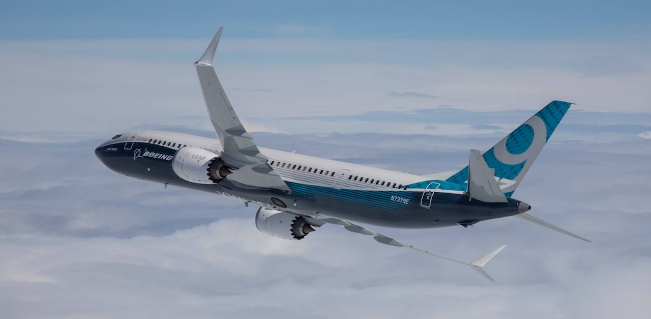 Boeing 737 Max 9 in flight