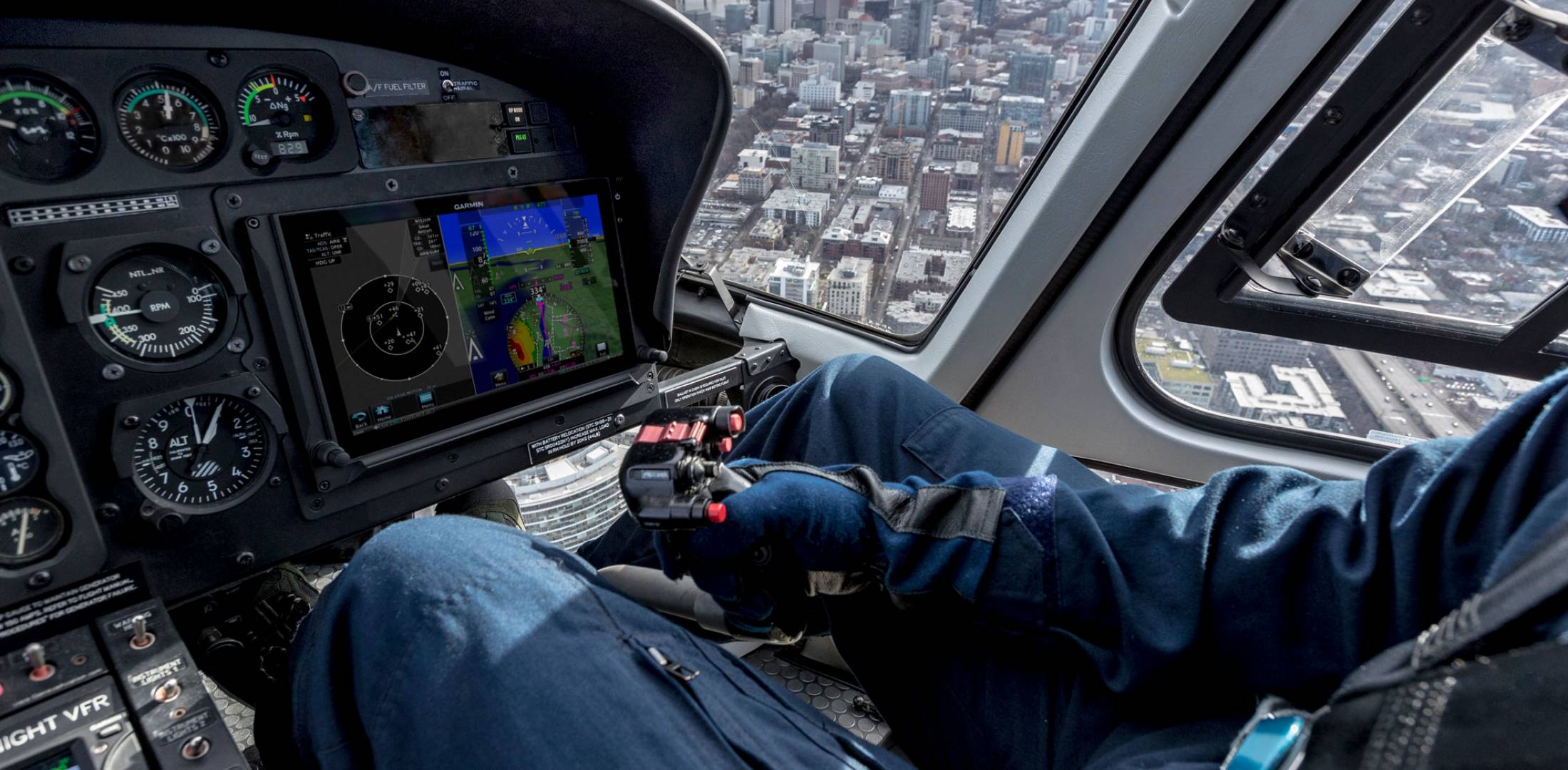 Helicopter Flight Control System Is a First for Garmin | General