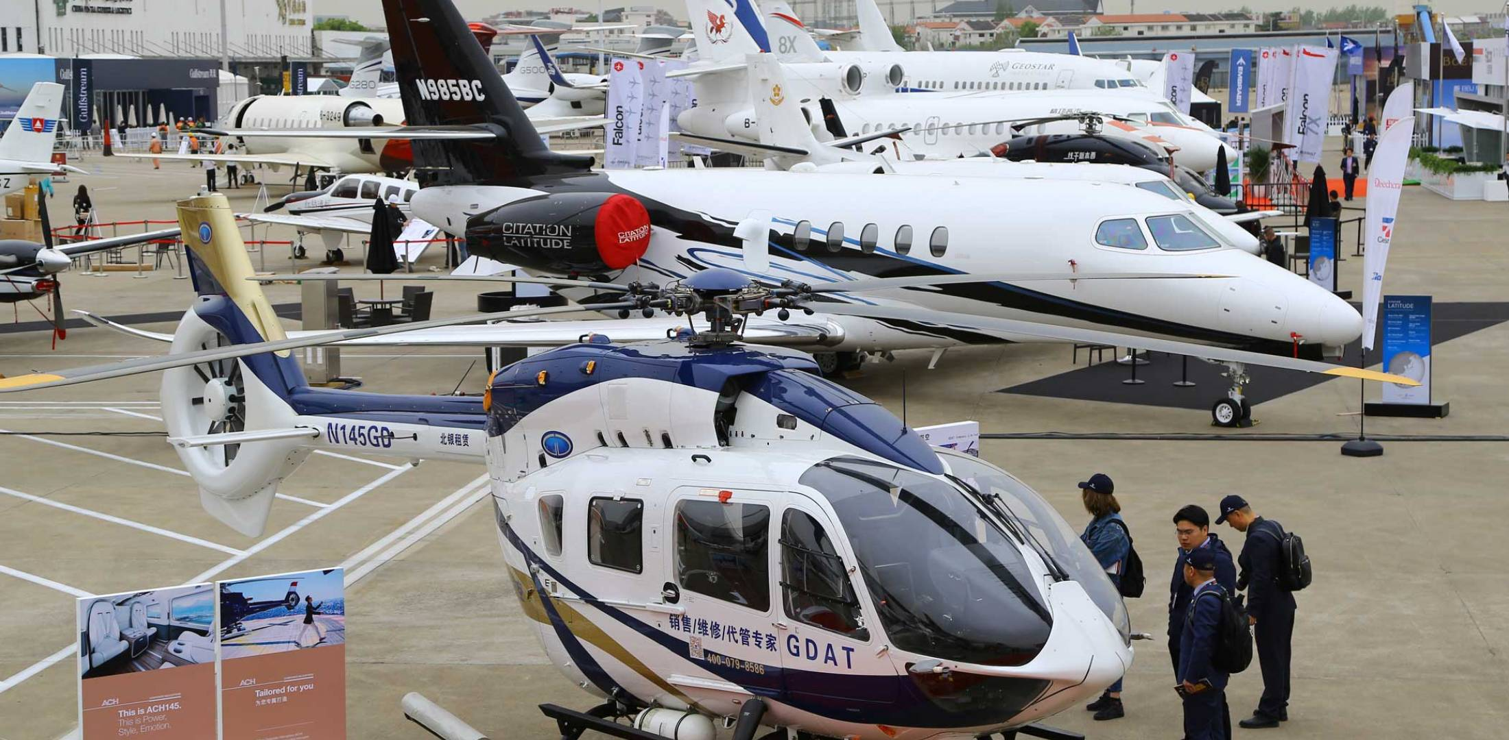 ABACE 2018 static display