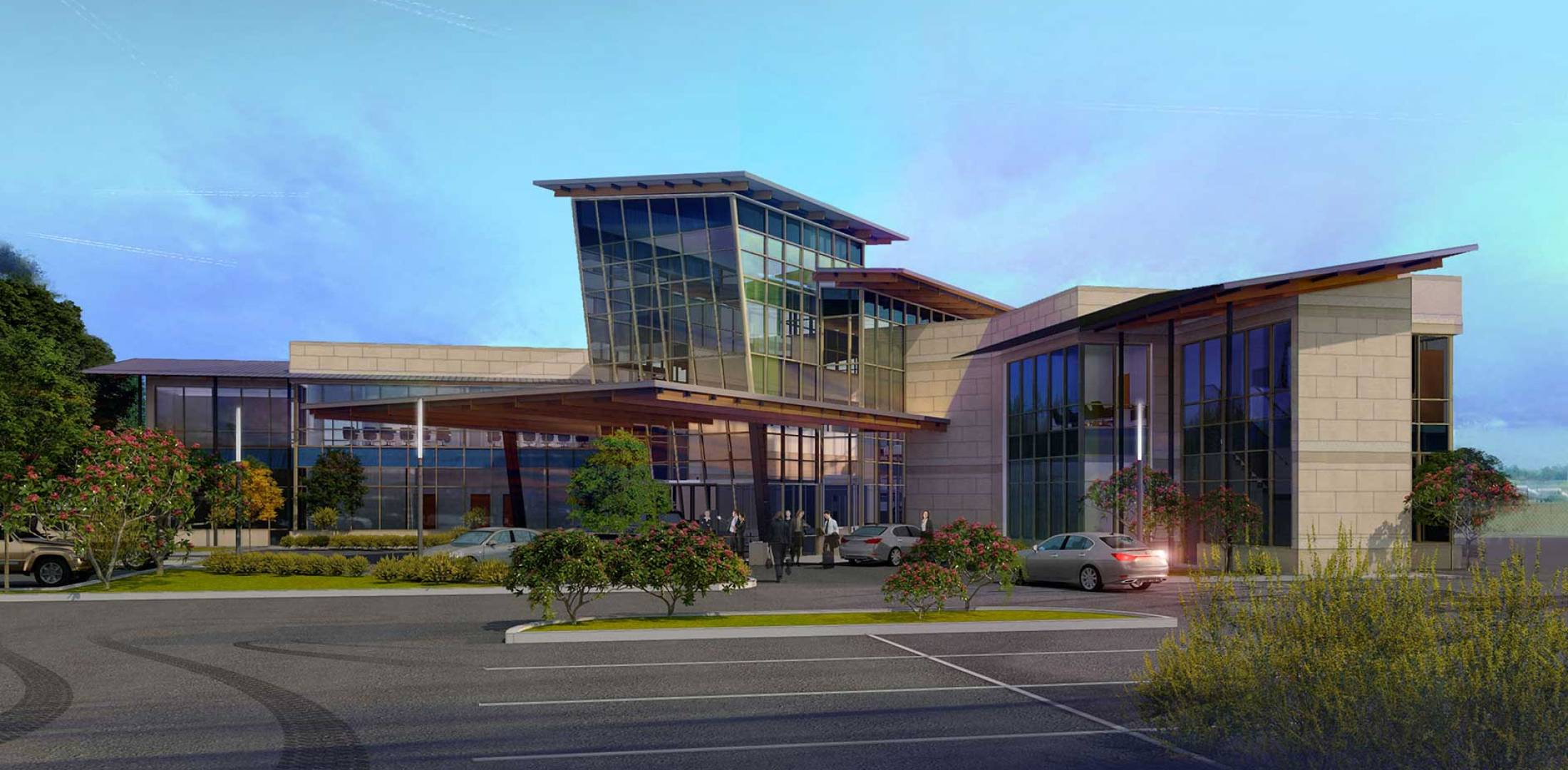 Artist rendering of the new FBO at TKI