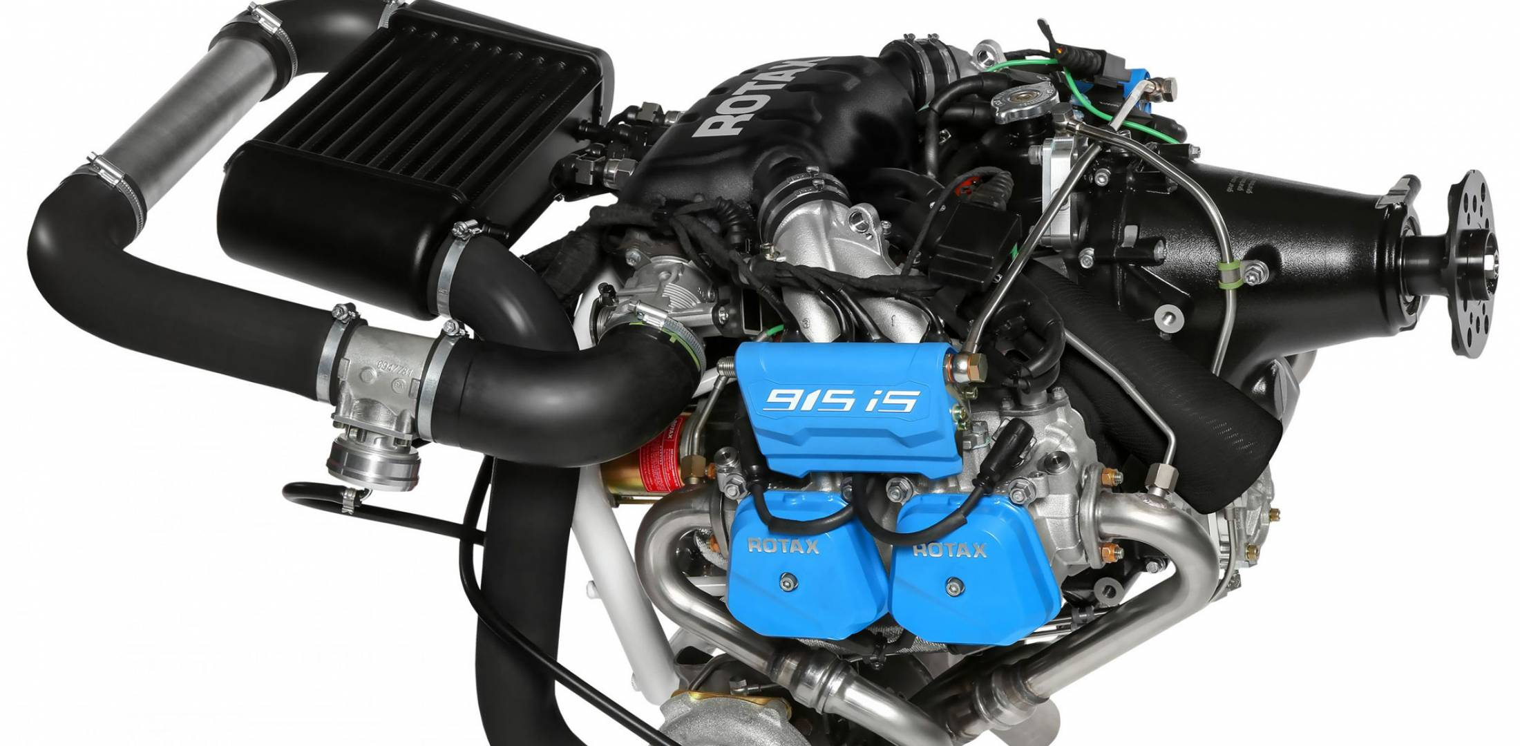 Rotax recently began deliveries of its turbocharged Rotax 915 iS. (Photo:  Rotax)