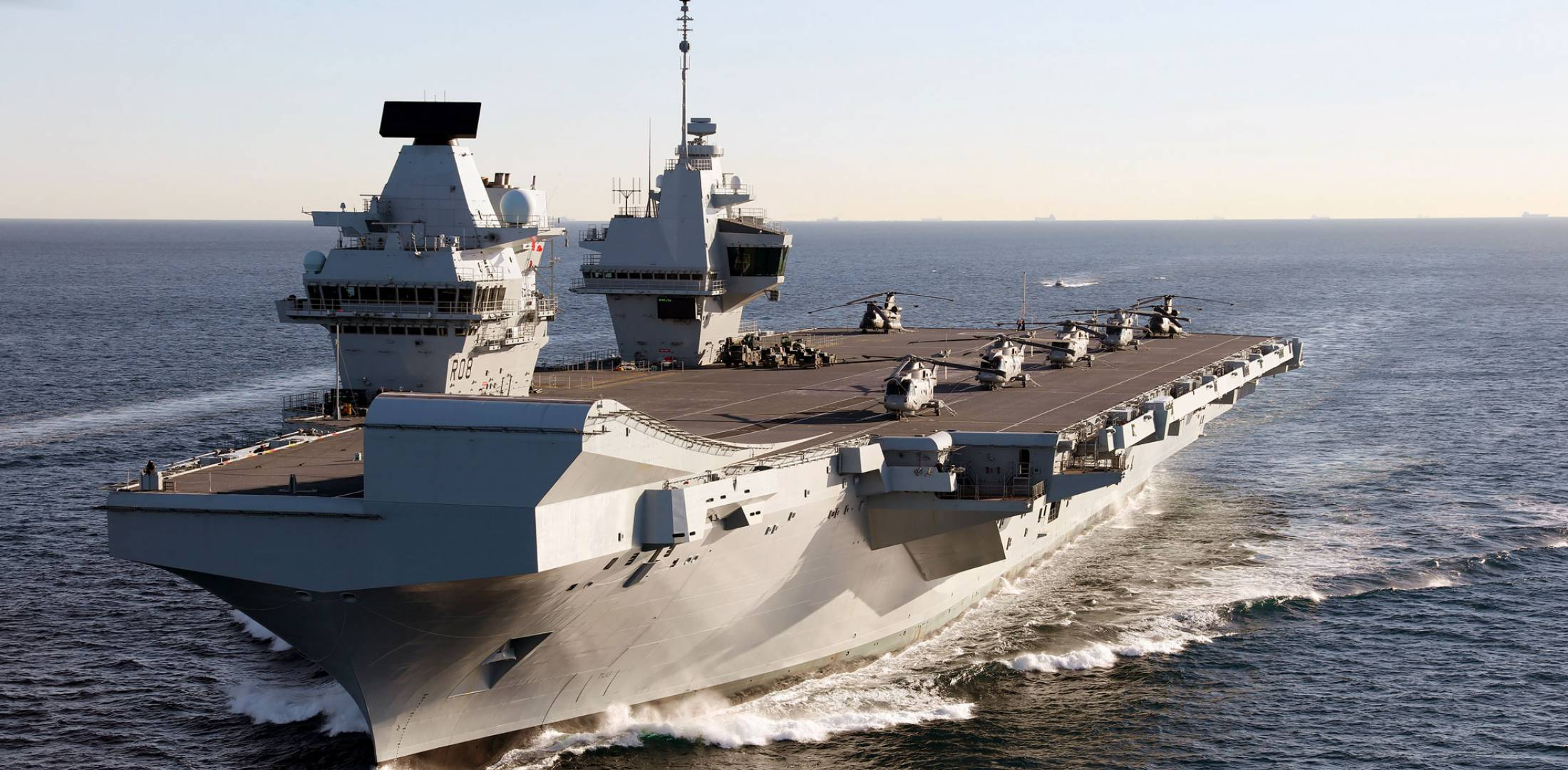 UK's New Aircraft Carriers Rekindle Some Naval Pride ...