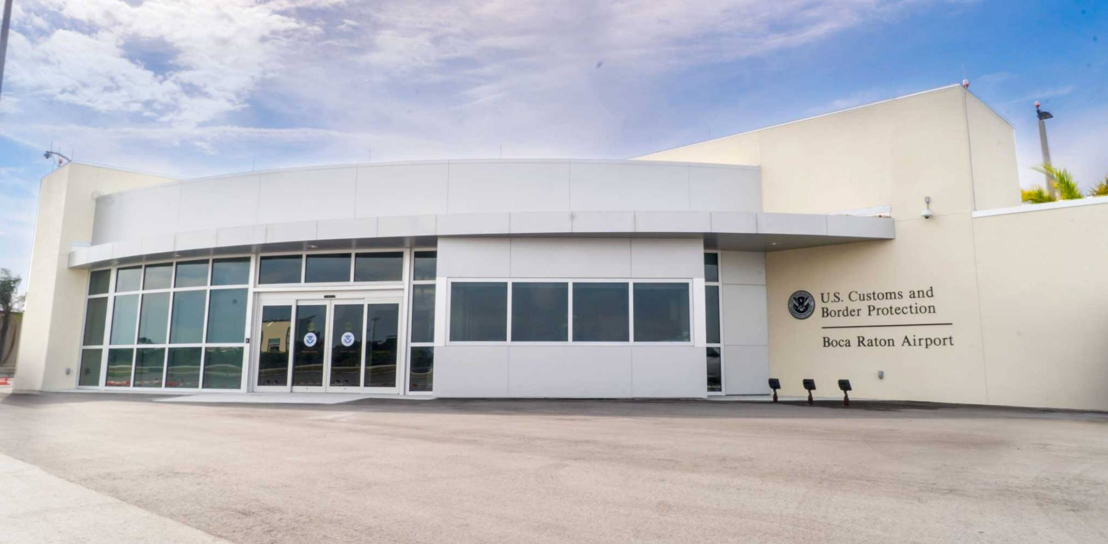 New CBP Facility at Boca Raton Airport