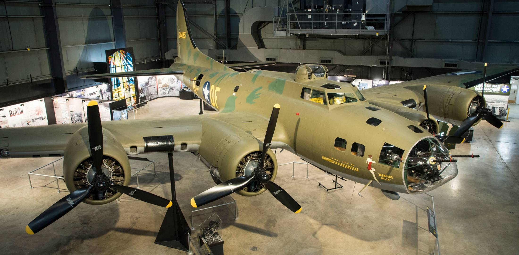 National Air Force Museum >> Air Force Museum Unveils Restored Memphis Belle Aerospace News