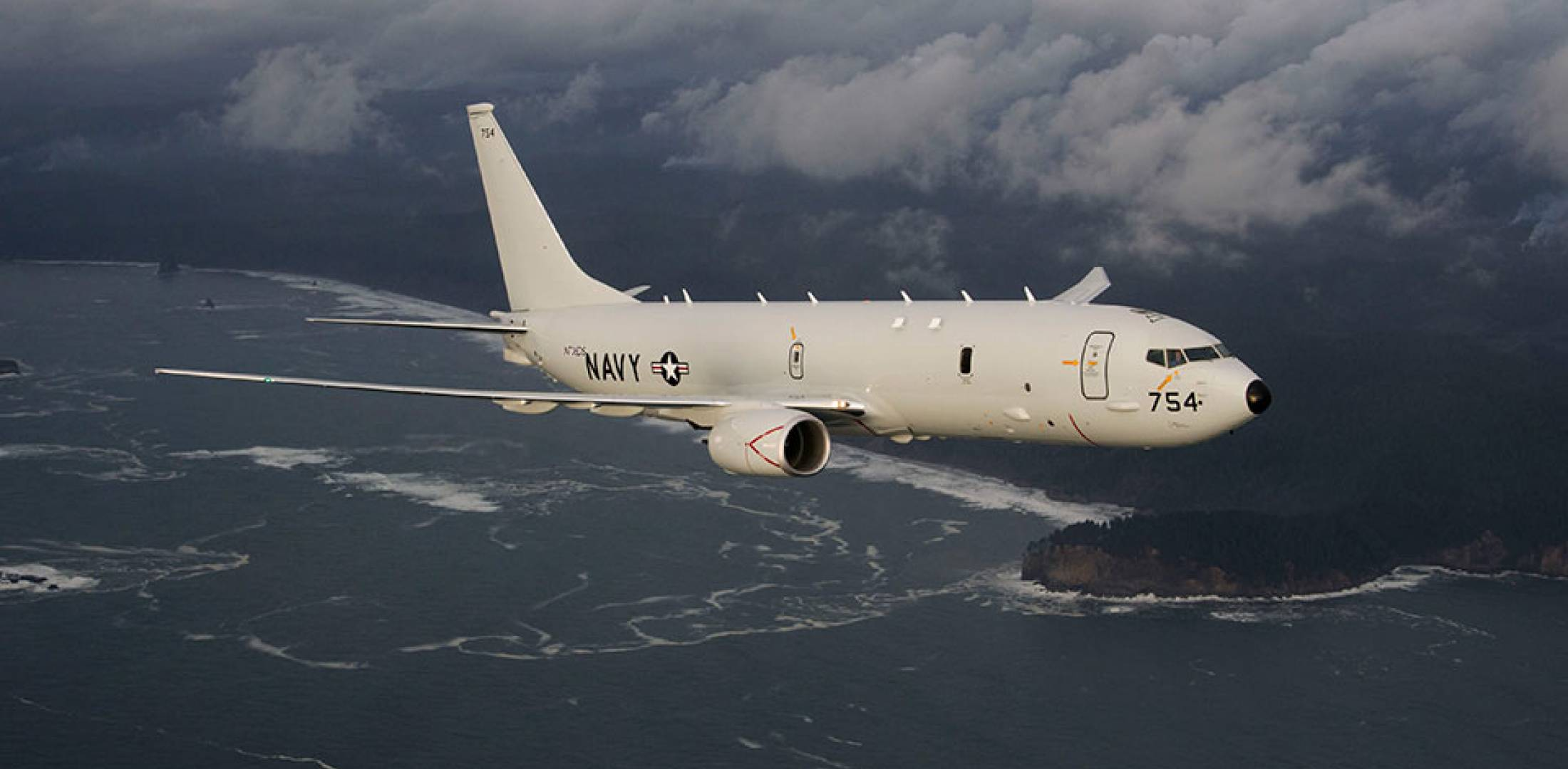 P-8A in flight