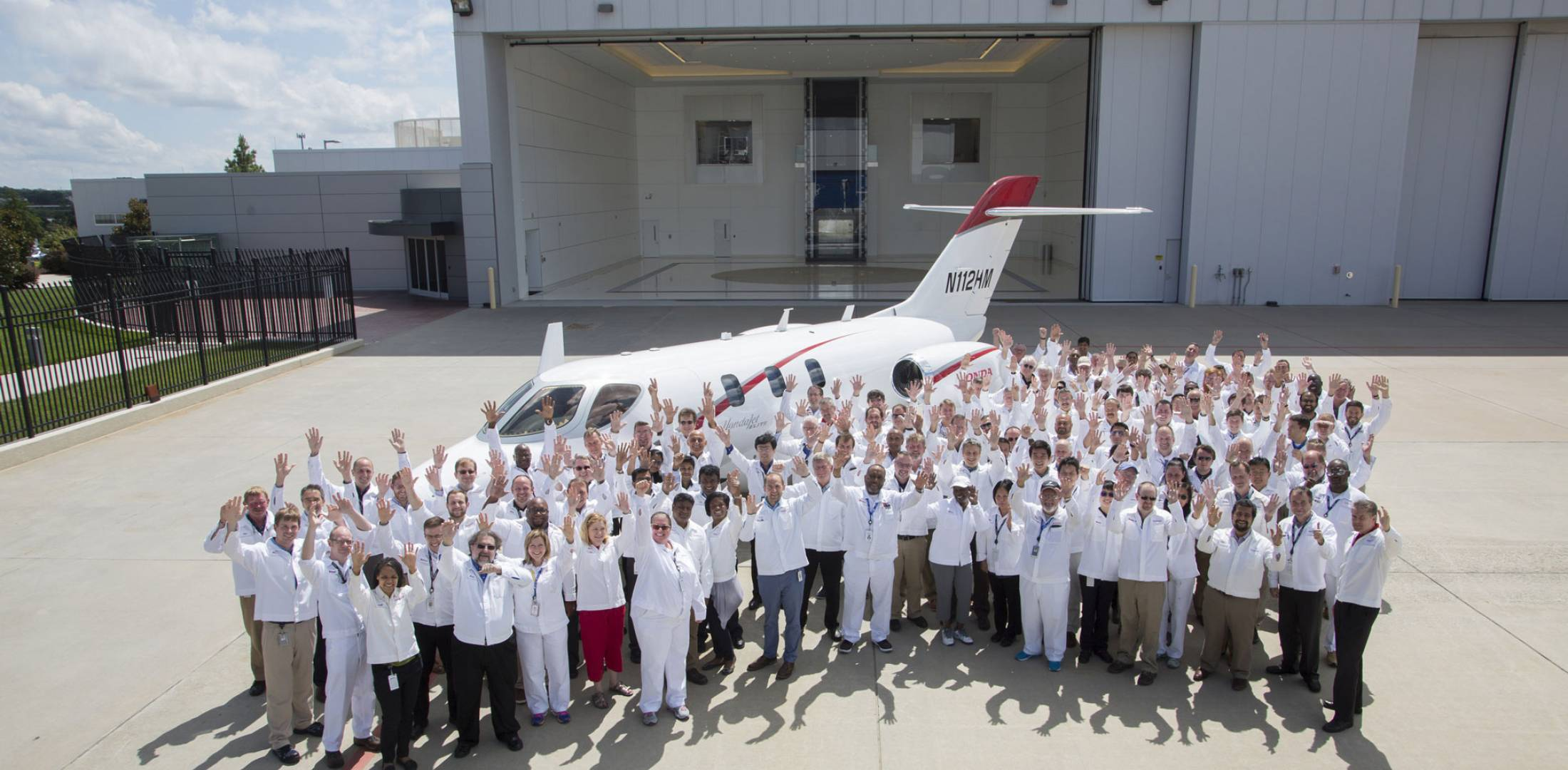 HondaJet Elite first delivery