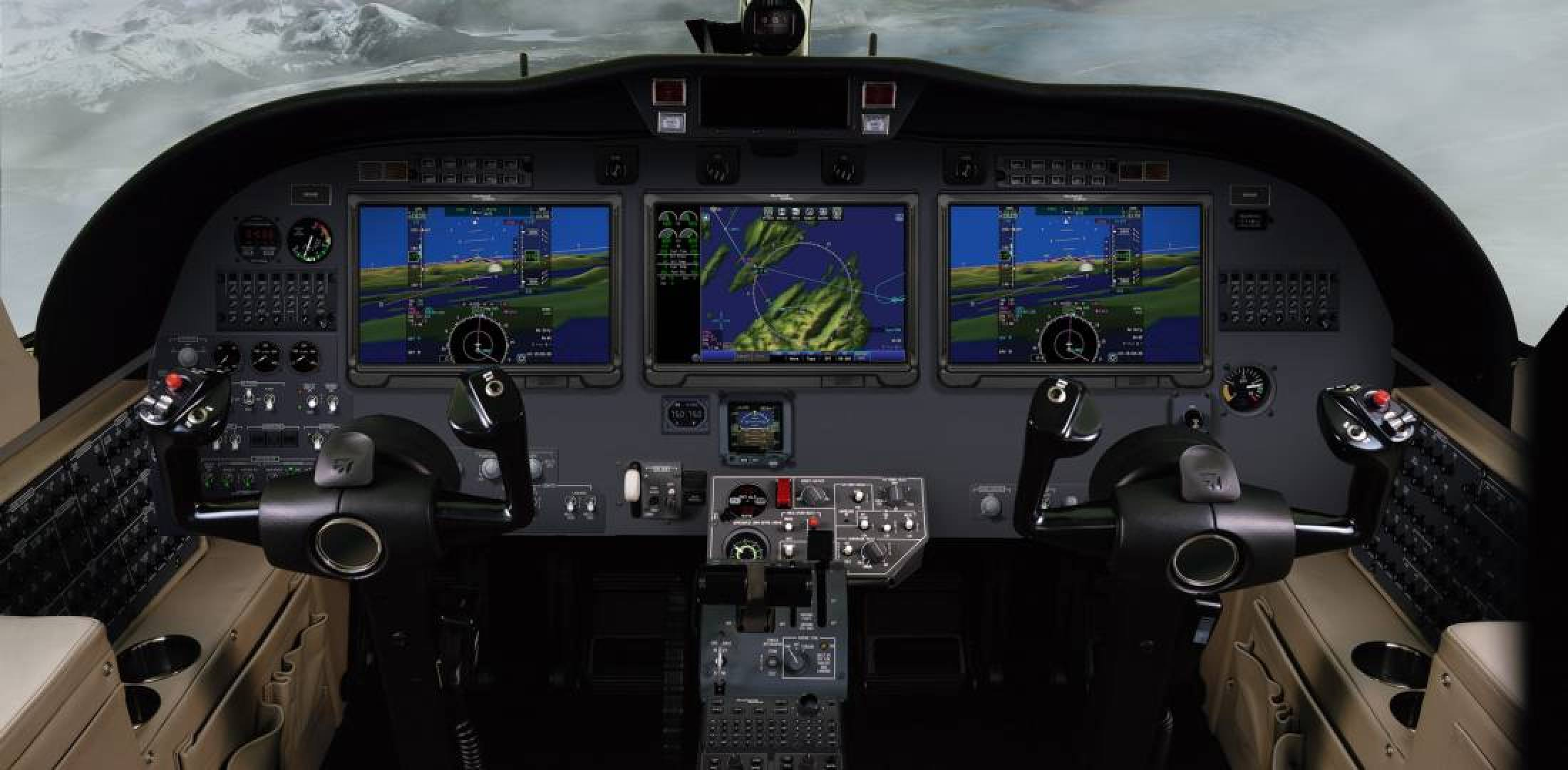 Collins Aerospace Pro Line Fusion on Citation CJ3