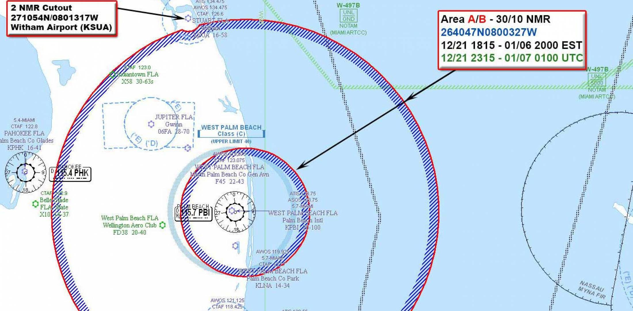 Florida TFR Compounds Holiday Traffic | Business Aviation