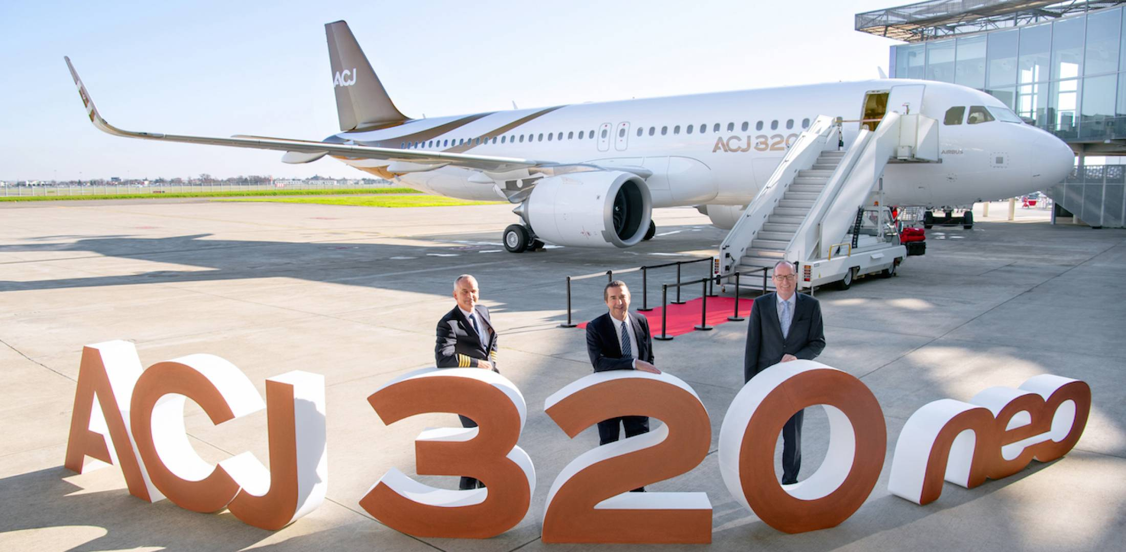 Airbus Corporate Jets deliveries first ACJ320neo to Acropolis Aviation