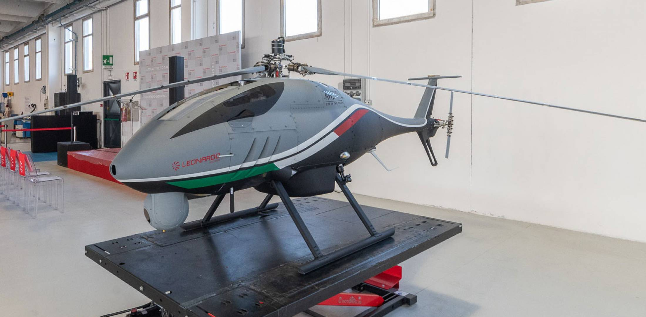 unmanned air system by Leonardo