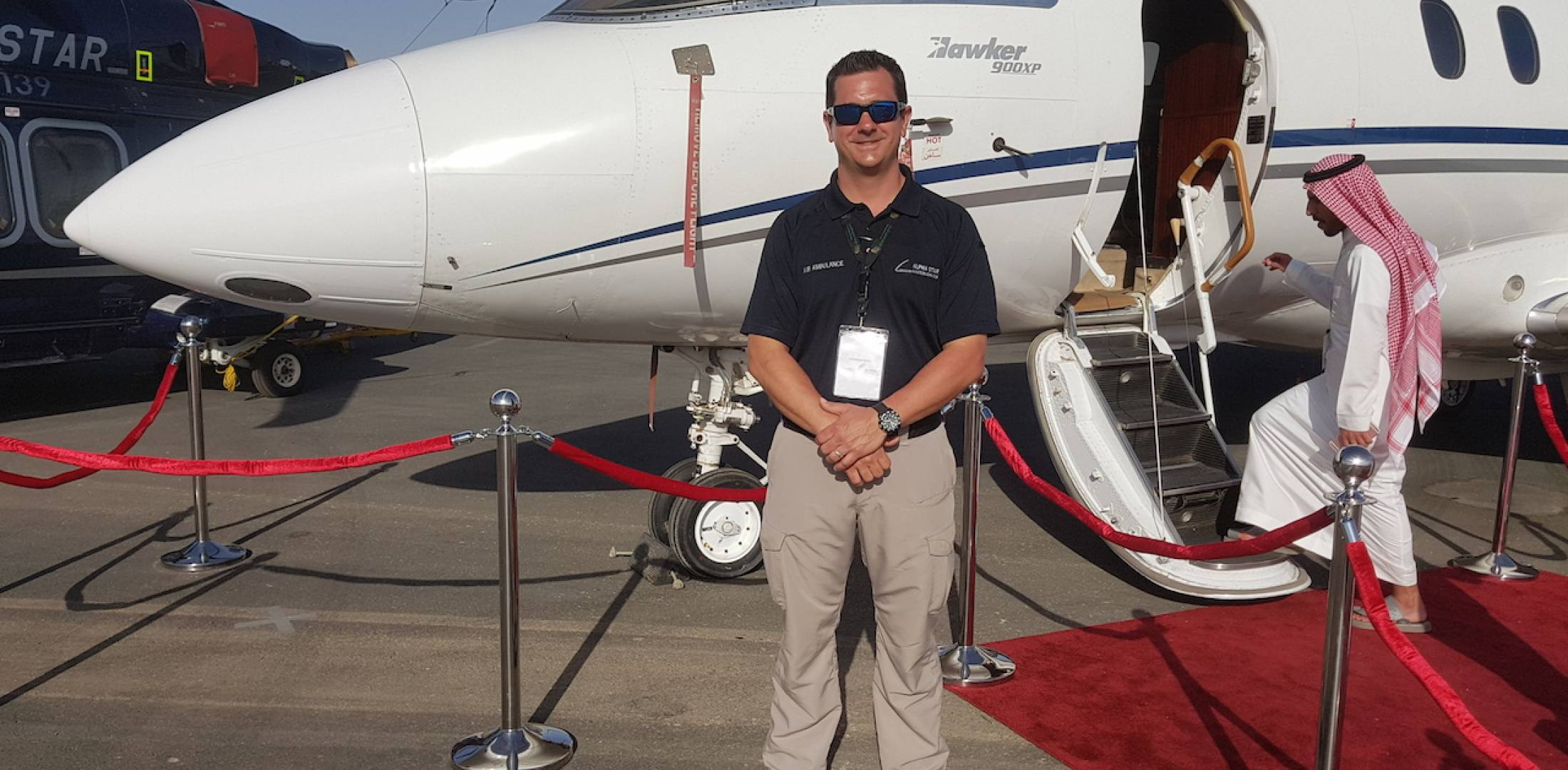 John Paladino, Alpha Star Aviation Services