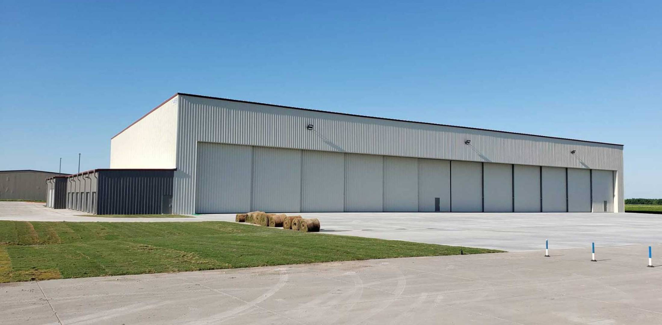 New Hangar at McKinney National Airport