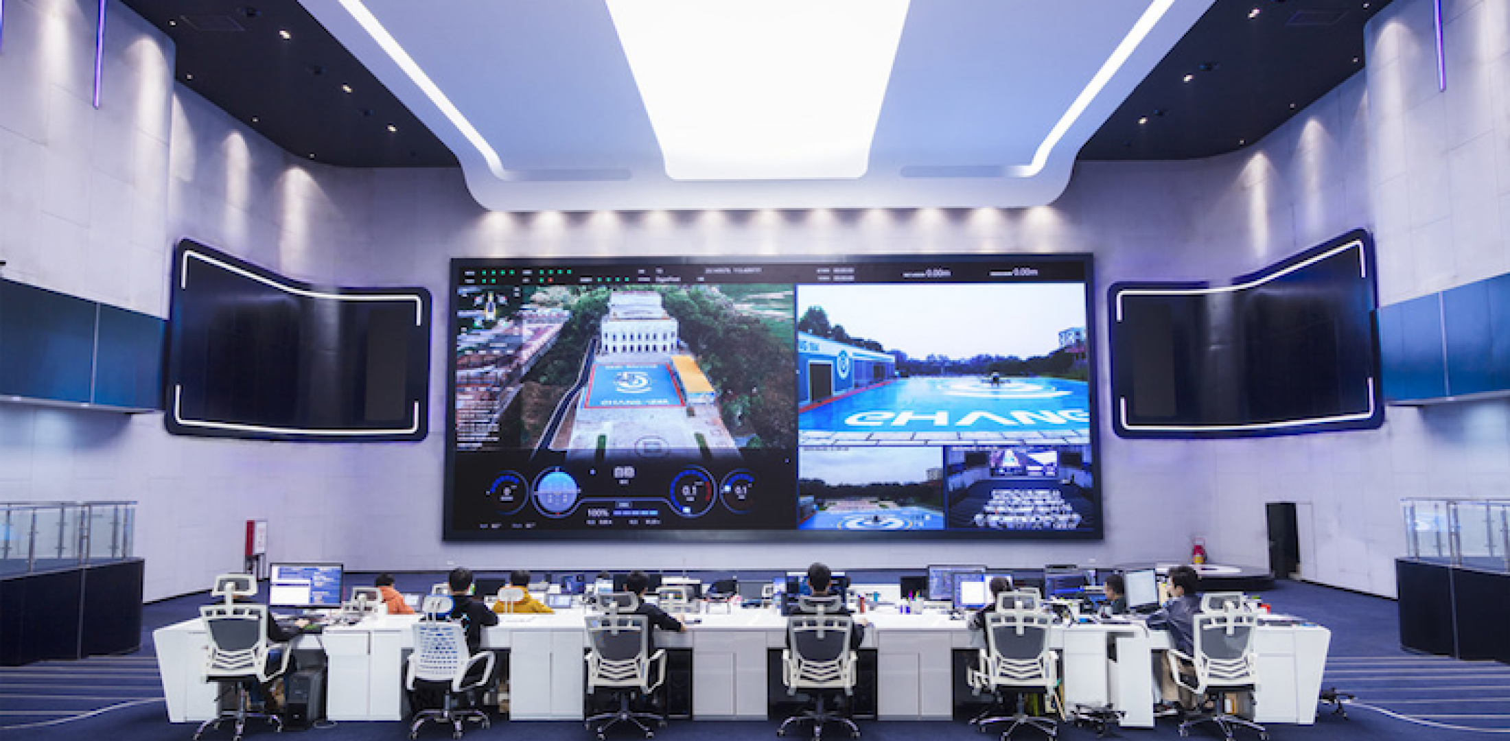 EHang plans to open a command and control center for autonomous eVTOL flights in Guangzhou, China.