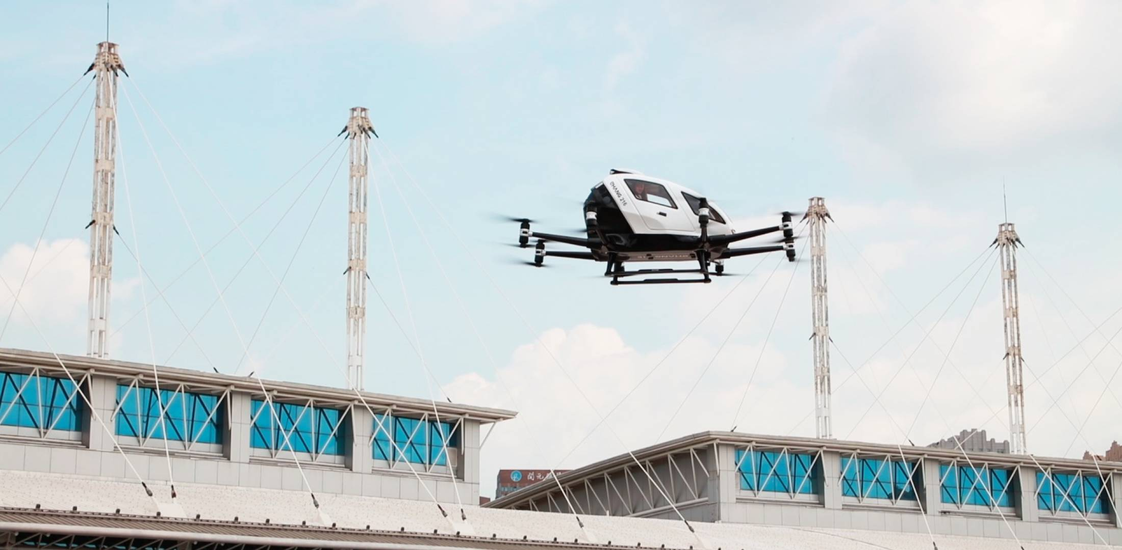 EHang's 216 Autonomous Aerial Vehicle