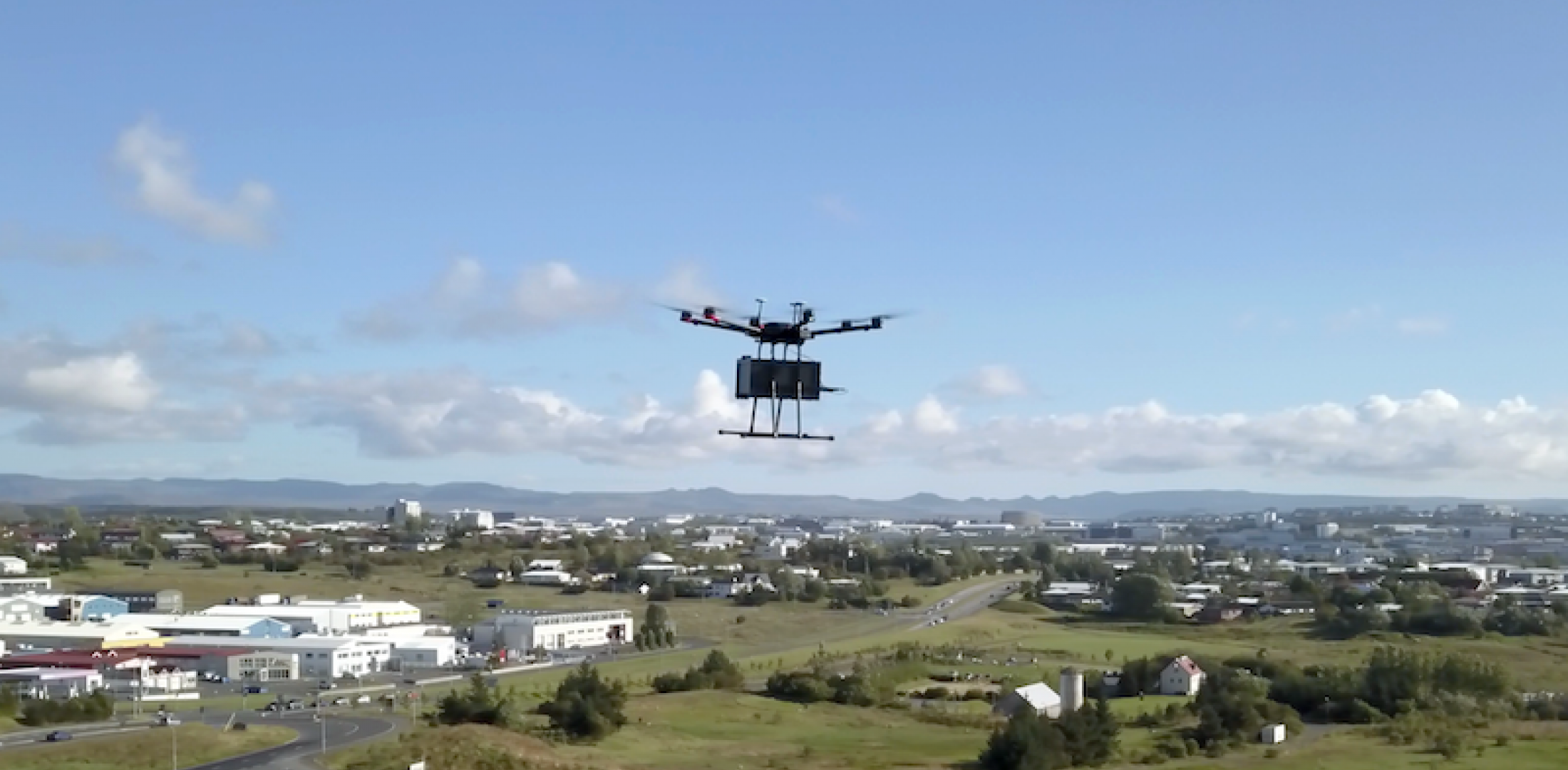 Flytrex has been conducting trial drone food deliveries in Iceland