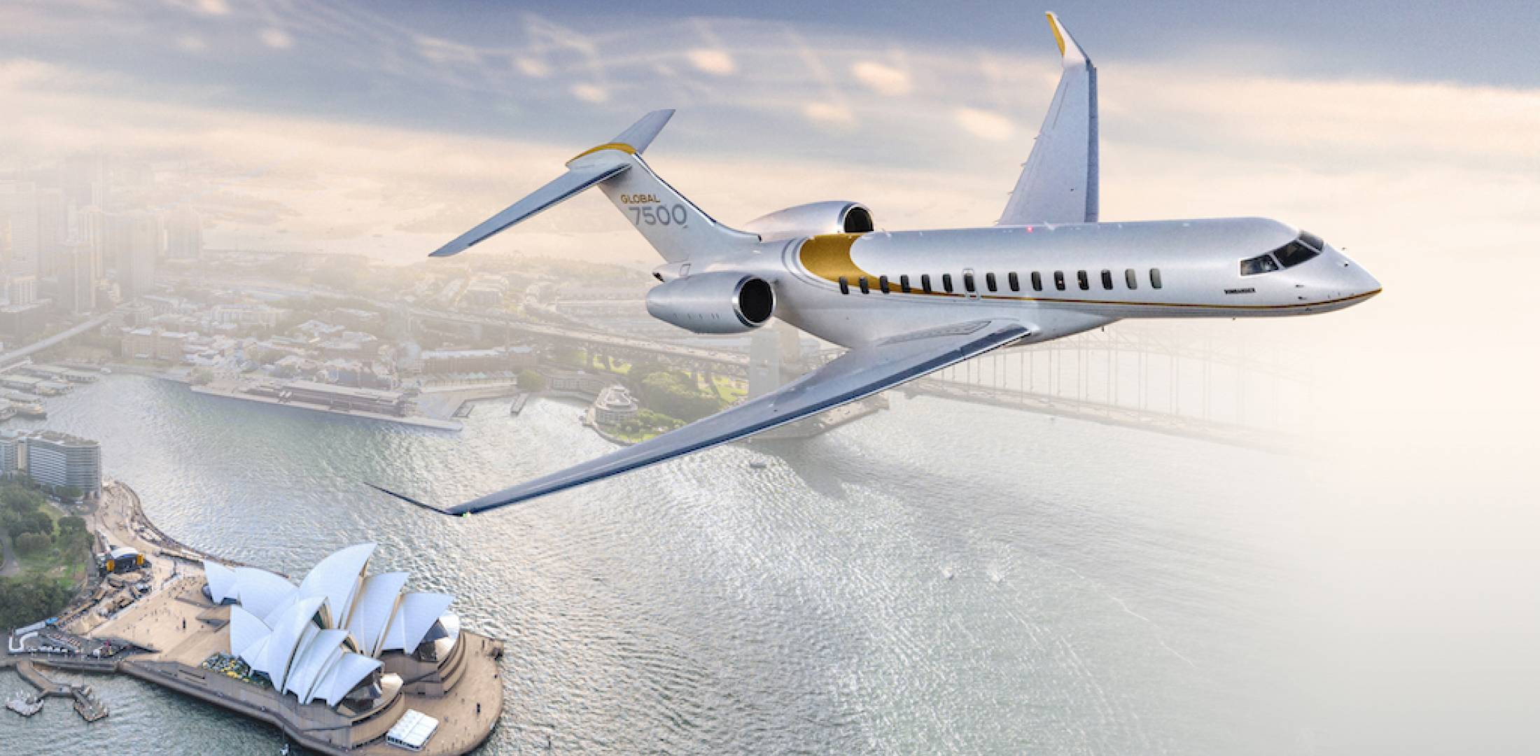 Bombardier Global 7500 (Photo: Bombardier)