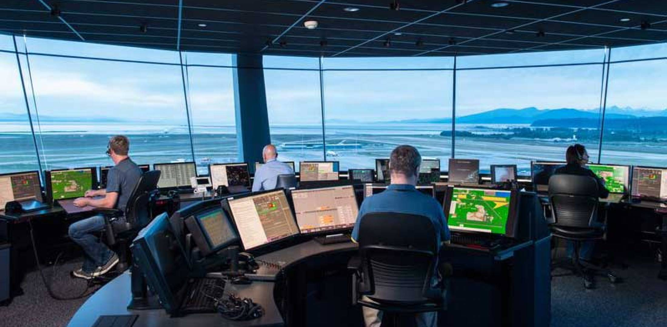 Vancouver Airport control tower