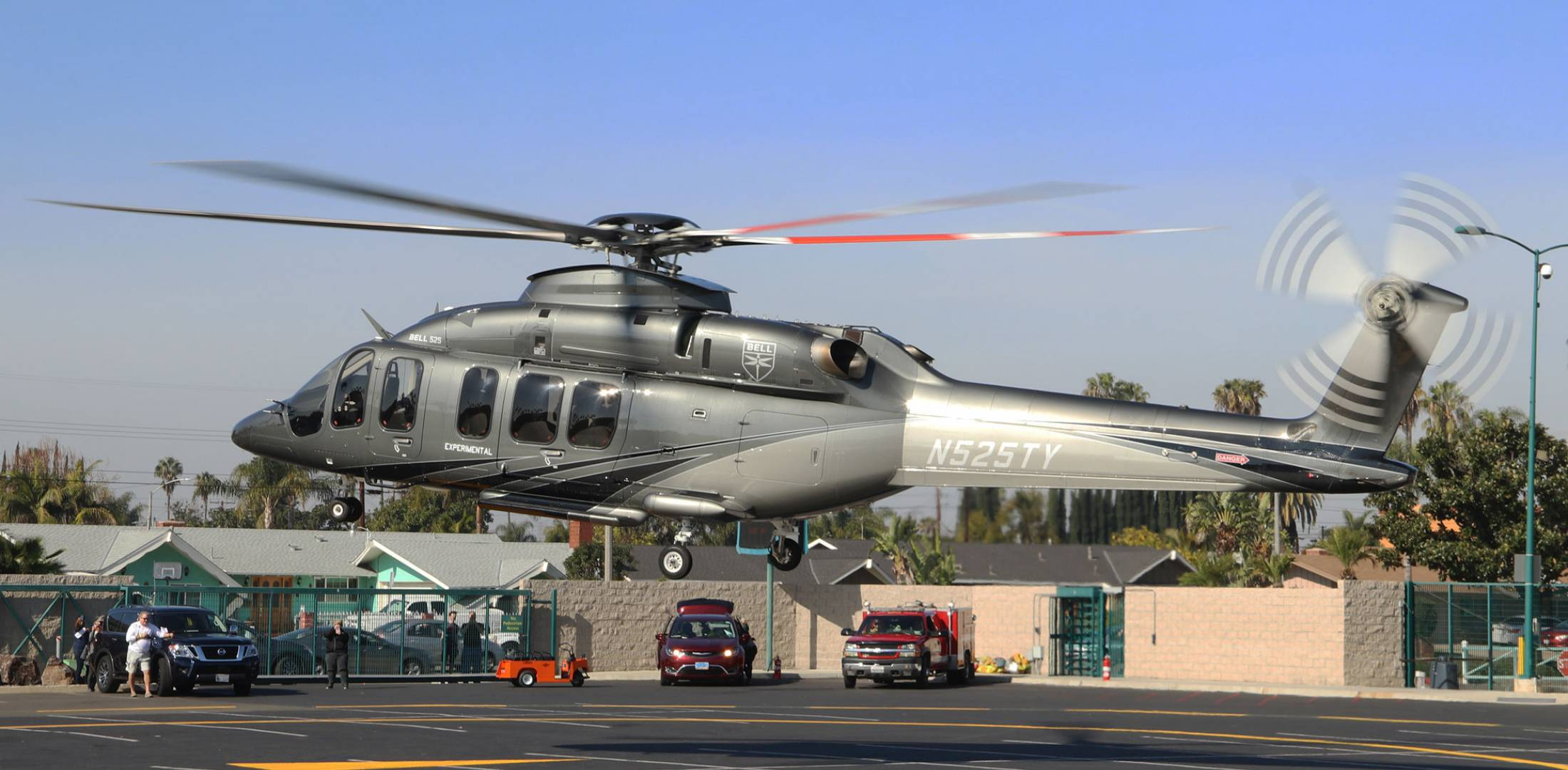 Bell 525 Photo: Barry Ambrose
