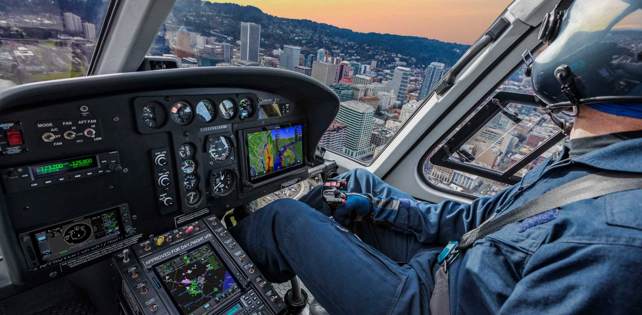 Garmin's GFC 600H helicopter flight control system