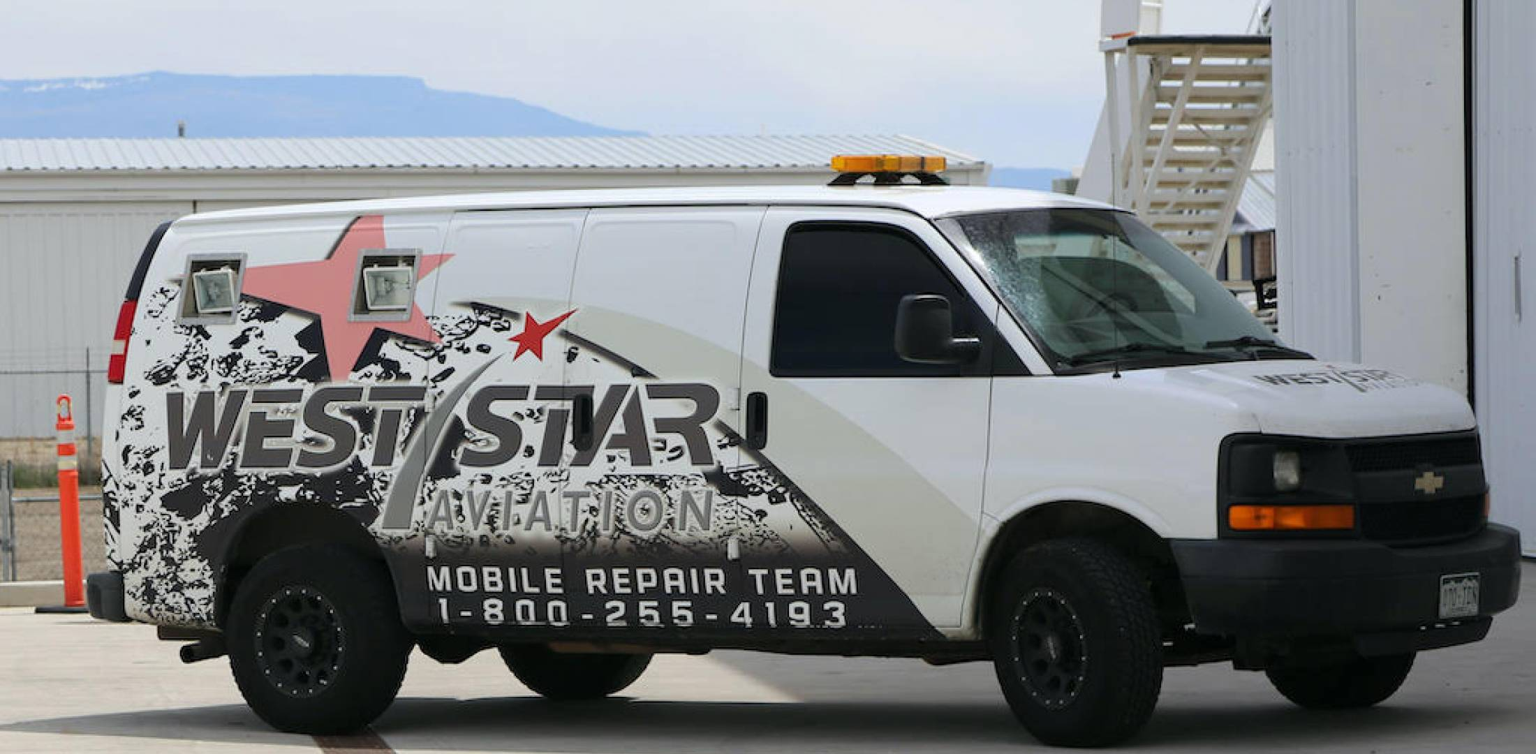 West Star mobile truck