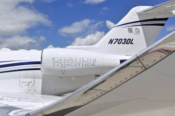 Citation Latitude winglet