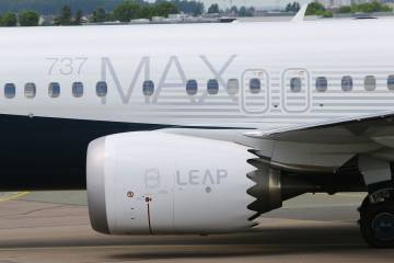 CFM engine on Boeing 737 MAX