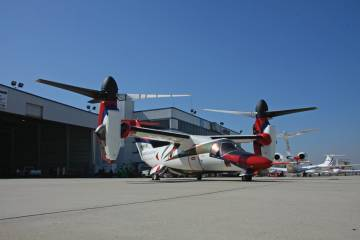 AgustaWestland plans to start flying customer demos in one of its two AW609 prototypes during the Heli-Expo show. Daniele Romiti, AgustaWestland CEO, is a strong supporter of the tiltrotor. See Charles Alcock's interview with Romiti