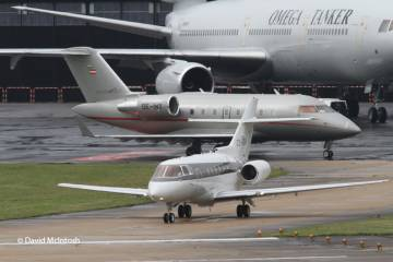 Business jets at Farnborough 2012