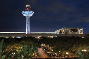 The control tower at Changi Airport in Singapore is a friendlier workplace since the introduction of Thales' Lorads III air traffic management system.