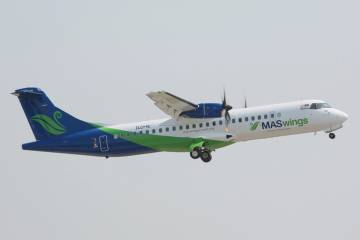 ATR 72s are common among Asian airlines. In fact, ATR claims an 85 percent market share in Asia but has not sold any of its regional turboprops in China.