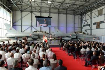 Rafale delivery to Egypt