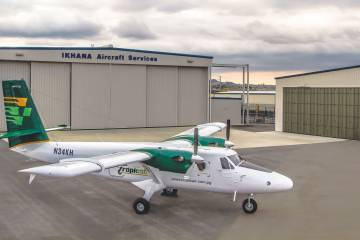 Ikhana's re-lifing of Twin Otters can include a customer's choice of avionics, overhauled or factory-new Pratt & Whitney Canada PTA-27s or PT6A-34s, overhauled or new props and re-life on the fuselage,wing and wing box.