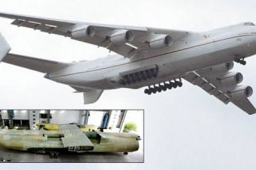 An-225 Mriya airlifter in flight