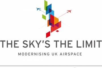 The Sky's the Limit campaign logo
