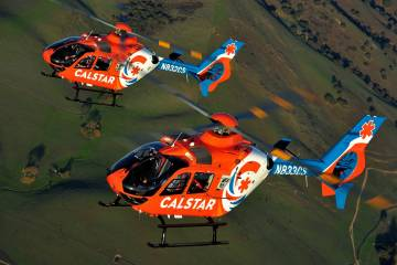 Calstar Airbus H135 helicopters