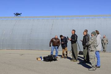 U.S. Air Force testers fly 3DR Solo