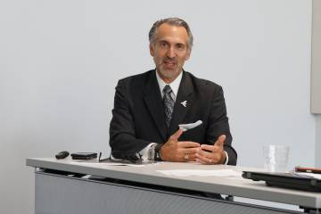 Embraer Executive Jets president and CEO Michael Amalfitano