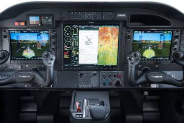 Daher TBM 910 with Garmin G1000 NXi flight deck