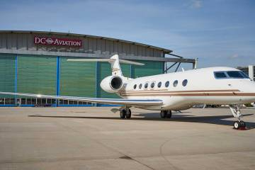 DC Aviation's Bombardier Challenger 604