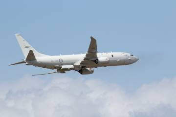 Royal Australian Air Force P-8A Poseidon