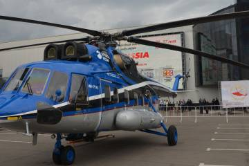 Mi-171A2 on static display