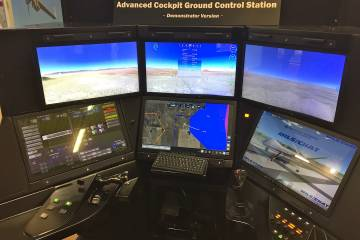 General Atomics Advanced Cockpit Ground Control Station