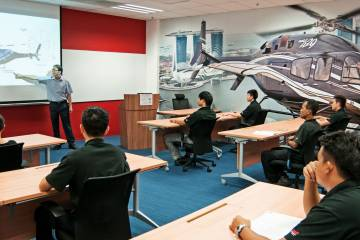 Training is a big component of the Singapore Bell facility