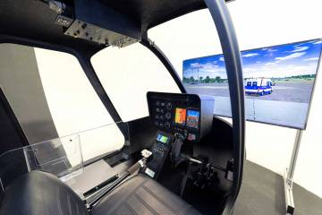 Frasca International helicopter training device (HTD)